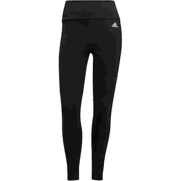 adidas 3-STRIPES DESIGNED2MOVE AEROREADY Tights Damen black-white