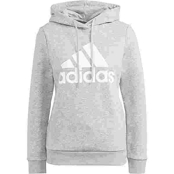 adidas SPORT ESSENTIALS Hoodie Damen medium grey heather-white