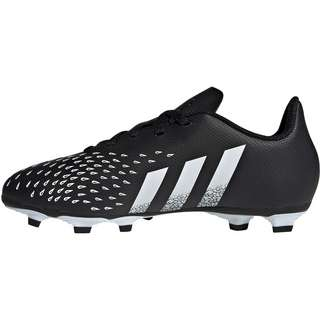 adidas PREDATOR FREAK .4 FxG J Fußballschuhe Kinder core black-ftwr white-core black