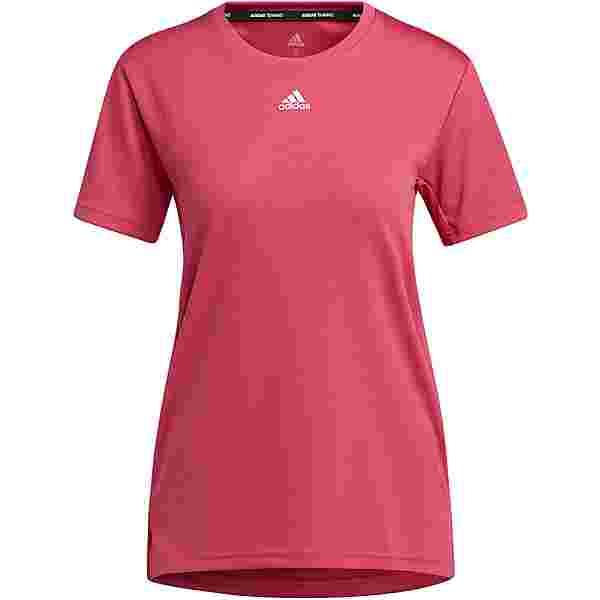 adidas NECESSI AEROREADY Funktionsshirt Damen wild pink-white