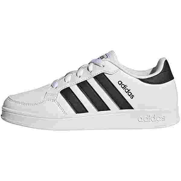 adidas BREAKNET Sneaker Kinder ftwr white/core black/ftwr white