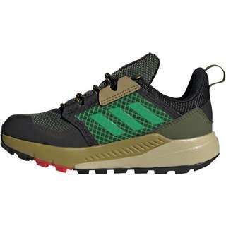 adidas TERREX TRAILMAKER Multifunktionsschuhe Kinder wild pine/vivid green/vivid red