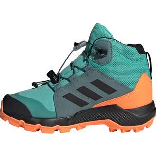 adidas GTX TERREX MID GTX Multifunktionsschuhe Kinder acid mint/core black/screaming orange