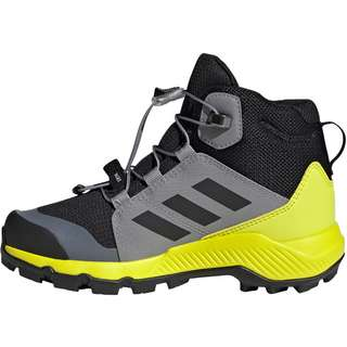 adidas GTX TERREX MID GTX Multifunktionsschuhe Kinder core black/grey three/acid yellow