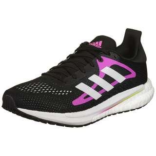adidas SOLAR GLIDE 3 W Laufschuhe Damen core black-ftwr white-screaming pink