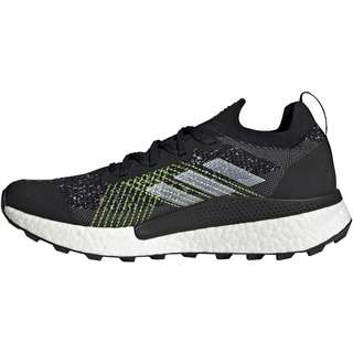 adidas Two Ultra Primeblue Trailrunning Schuhe Herren core black-ftwr white-solar yellow