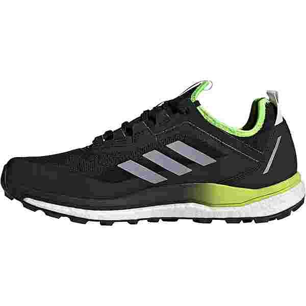 adidas GTX AGRAVIC FLOW Trailrunning Schuhe Herren core black-halo silver-solar yellow