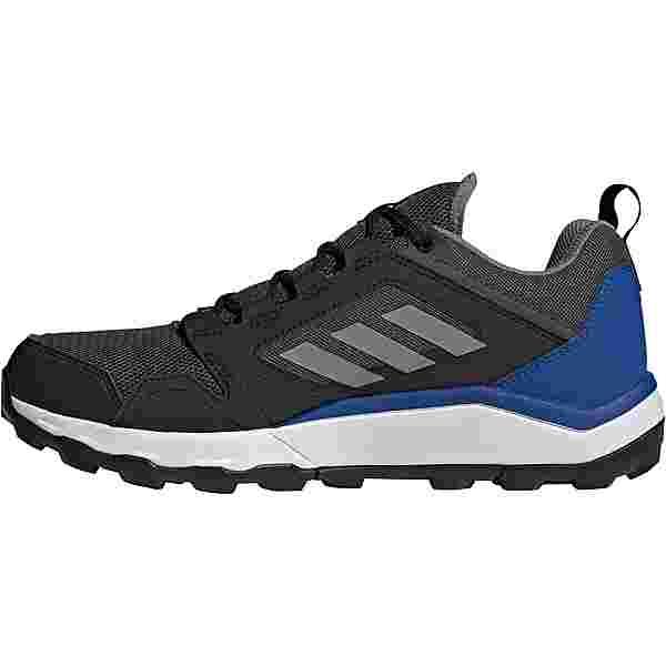 adidas GTX Agravic Trailrunning Schuhe Herren dgh solid grey-grey three-team royal blue