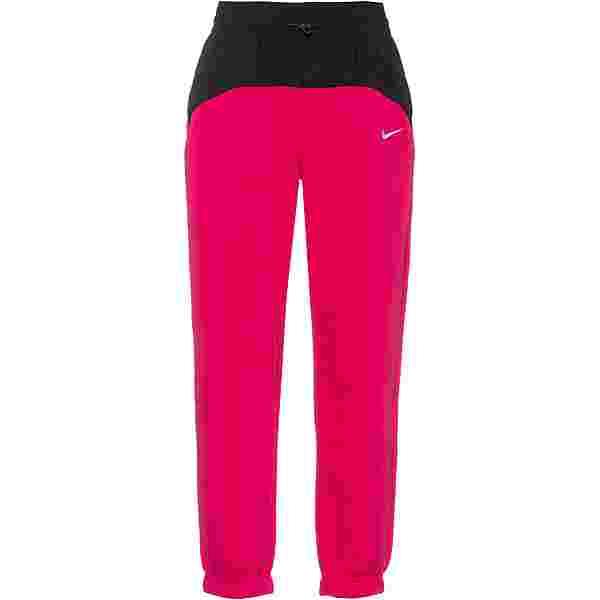 Nike NSW Sweathose Damen fireberry-black-white