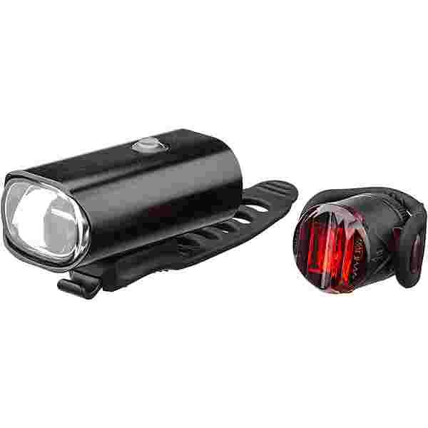 Lezyne Hecto Drive 40 + Femto Fahrradbeleuchtung schwarz