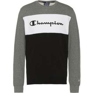 CHAMPION Sweatshirt Herren greymelange-white-black