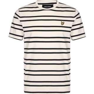 Lyle & Scott Double Stripe T-Shirt Herren beige
