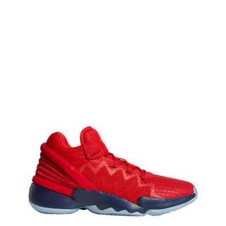 adidas D.O.N. Issue #2 Basketballschuh Sneaker Herren Scarlet / Team Navy / Gold Metallic