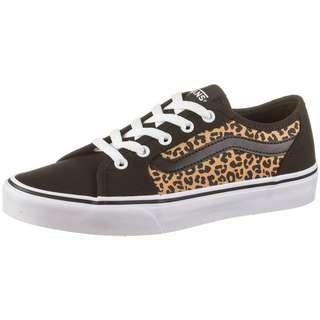 Vans Filmore Decon Sneaker Damen black-white-cheetah