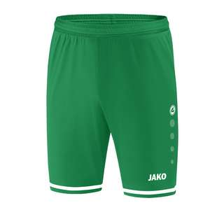 JAKO Striker 2.0 Short Hose kurz Khaki Fußballshorts GruenWeiss