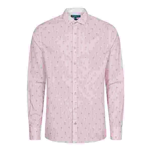Colours & Sons Peter Langarmhemd Herren rosa