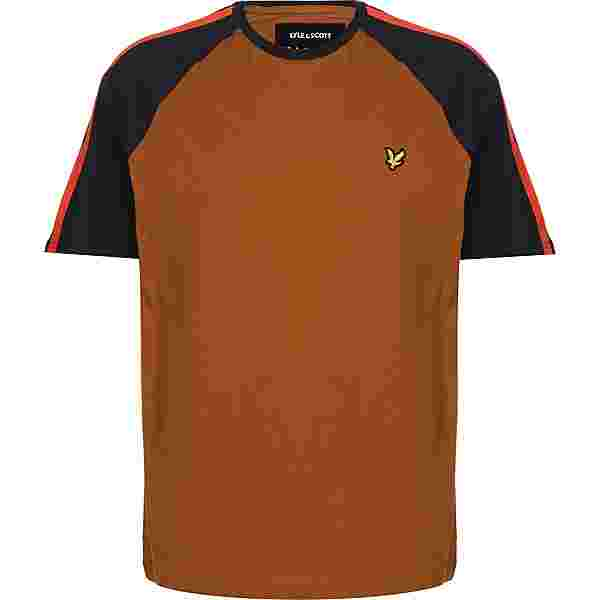 Lyle & Scott Colour Block T-Shirt Herren braun