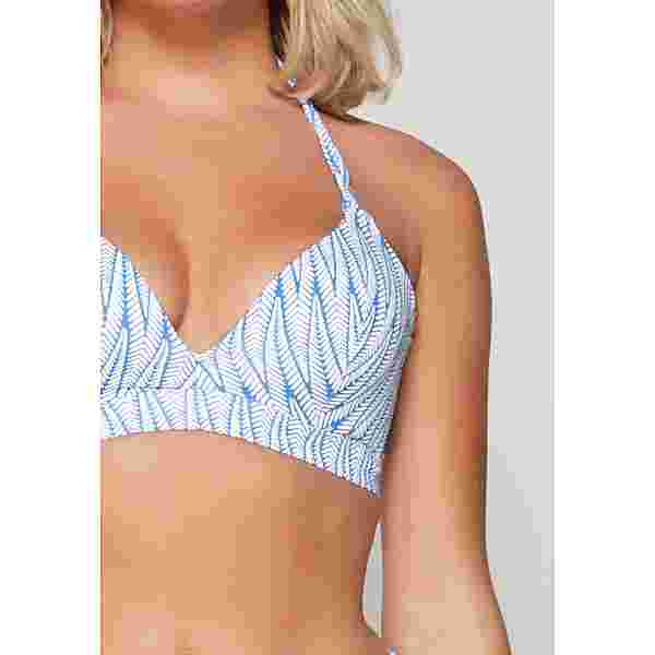 LingaDore Bikini Oberteil Damen Blau