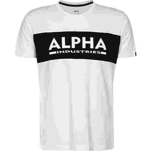 Alpha Industries Inlay T-Shirt Herren weiß