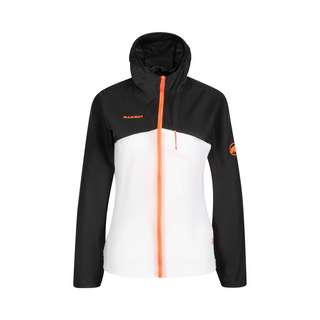 Mammut Convey Hooded Windbreaker Damen black-white