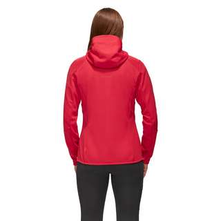 Mammut Ultimate VI Hooded Softshelljacke Damen sunset-sunset melange