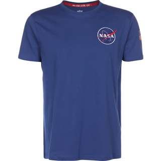 Alpha Industries Space Shuttle T-Shirt Herren blau
