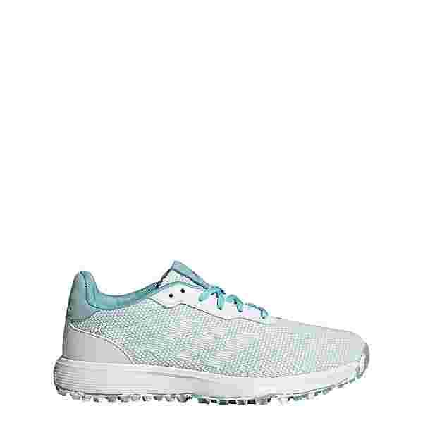 adidas S2G Spikeless Golfschuh Golfschuhe Damen Hazy Sky / Cloud White / Grey Two