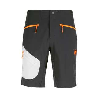 Mammut Sertig Shorts Herren black-white-vibrant orange