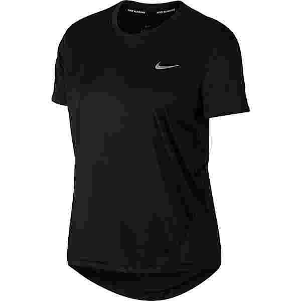 Nike Miller Funktionsshirt Damen black-reflective silver
