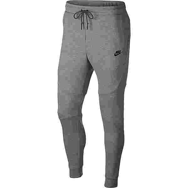 Nike NSW TECH FLEECE Sweathose Herren dk grey heather-black-black