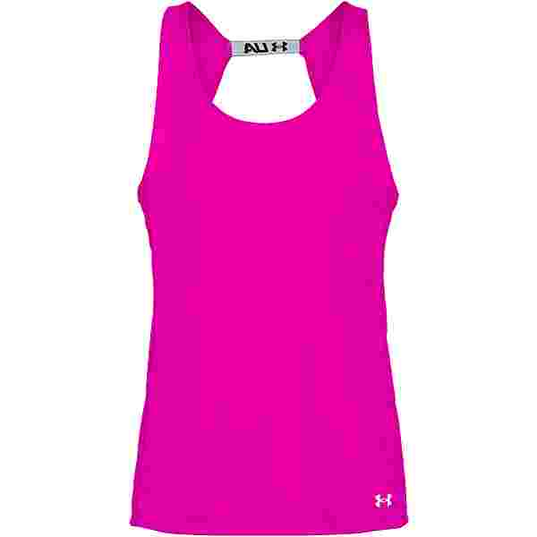 Under Armour Fly By Funktionstank Damen meteor pink