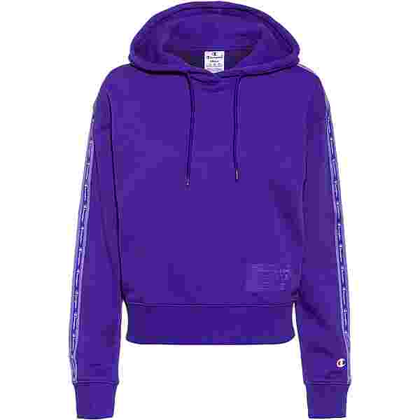 CHAMPION Hoodie Damen purple