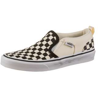 Vans ASHER Slipper Kinder (checkers) black/natural