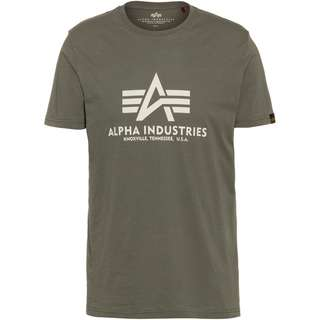 Alpha Industries T-Shirt Herren vintage green