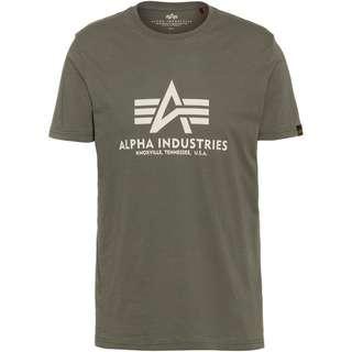 Alpha Industries T-Shirt Herren vintage green