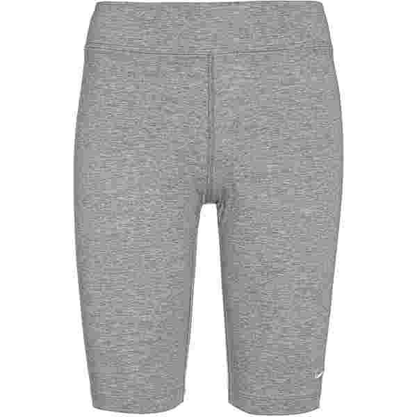 Nike NSW Essential Tights Damen dk grey heather-white