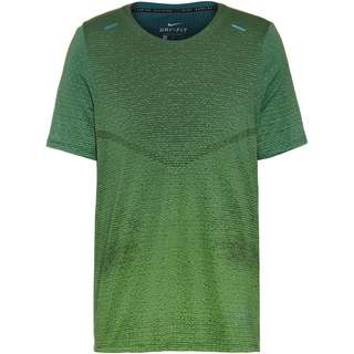 Nike Pinnacle Funktionsshirt Herren mean green-dark teal green-black-blkref