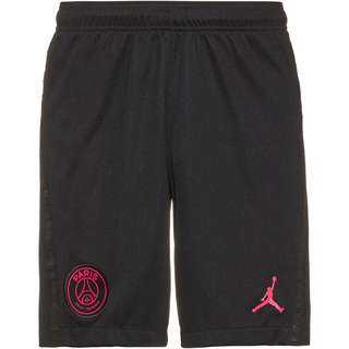 Nike Paris Saint-Germain-Jordan 20-21 4th Fußballshorts Herren black-hyper pink