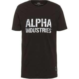 Alpha Industries T-Shirt Herren black-white