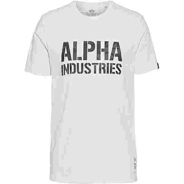 Alpha Industries T-Shirt Herren white