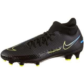 Nike Phantom GT Academy DF FG/MG Fußballschuhe black-black-cyber-lt photo blue