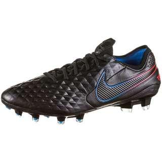 Nike Tiempo Legend 8 Elite FG Fußballschuhe Herren black-black-siren red-lt photo blue