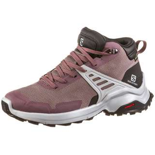 Salomon GTX X RAISE MID Wanderschuhe Damen flint-phantom-quarry