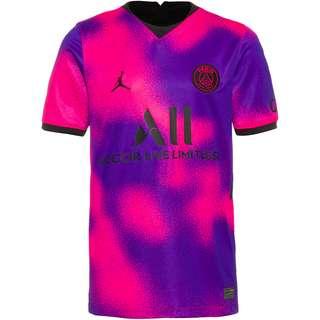 Nike Paris Saint-Germain-Jordan 20-21 4th Trikot Kinder hyper pink-black