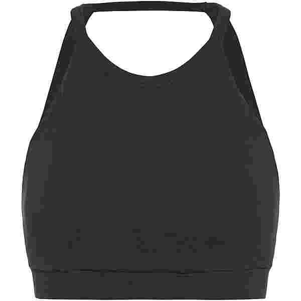 Mandala Halterneck BH Damen black