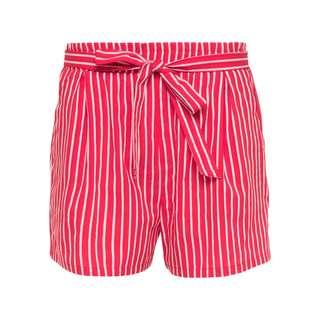 MYMO Shorts Damen Rot Weiss