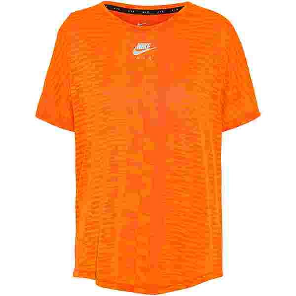 Nike Air Funktionsshirt Damen turf orange-bright mango-reflective silv