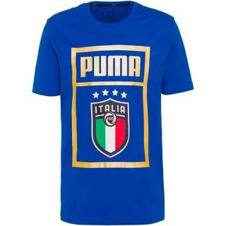 PUMA Italien 2021 T-Shirt Herren team power blue-team gold