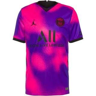 Nike Paris Saint-Germain-Jordan 20-21 4th Trikot Herren hyper pink-black