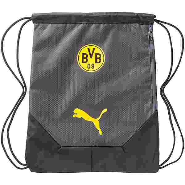 PUMA Borussia Dortmund Turnbeutel schwarz